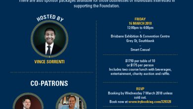 Save the Date – Champagnat Trust Sports Lunch 2018 Friday 16 March 2018