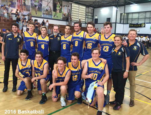 1975, 1981, 1994, 1995, 1996, 1999, 2000 and…2016. They Did It!! 2016 Join the 1981 Invincibles in Ashgrove Basketball's Sporting Hall of Fame