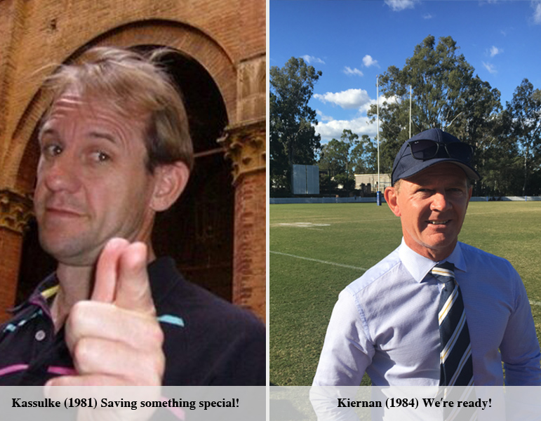Now Only the Great Kassulke (1981) Stands Between Ashgrove and an Undefeated Premiership ! The Clash of Two 1980's 'Special K' Old Boys Brings Extra Edge to Season Ending Blockbuster