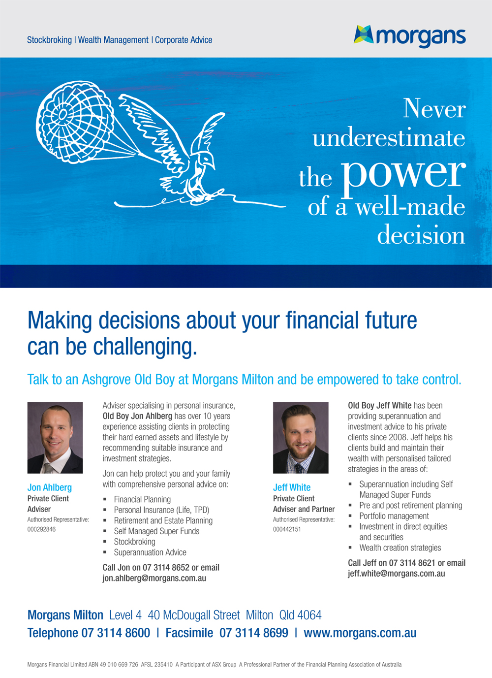 Making Decisions about your Financial Future