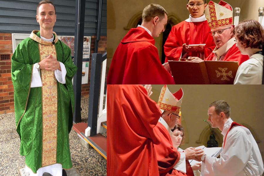 Father Thomas Zaranski (2003) Takes Final Vows
