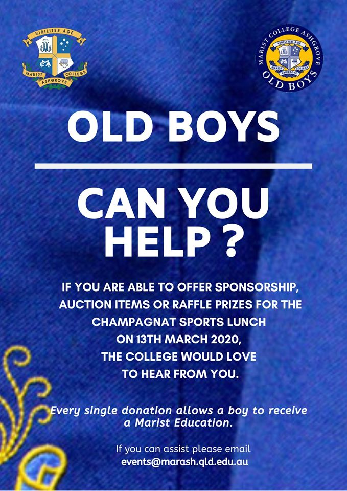Old Boys – Can you Help?