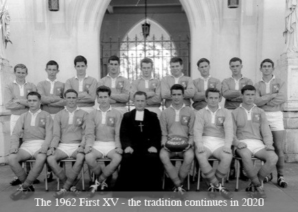 First XV Season to Open with Seven Sons of the Old Boys Taking the Field