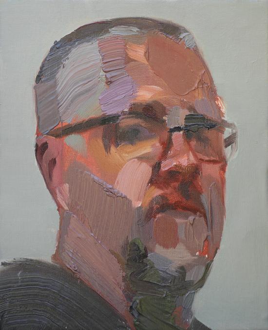 Dylan Jones (2009) is Once Again a Finalist in the Brisbane Portrait Prize