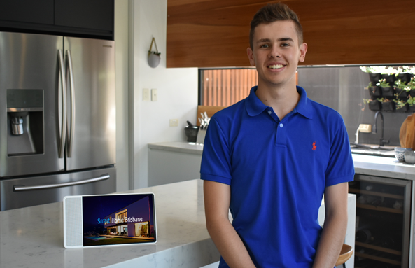 WHIZ KID Young Entrepreneur Tom Thorpe is already lighting is up the business world.