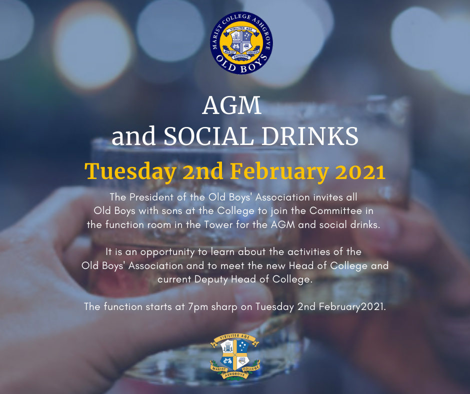 AGM and Social Drinks
