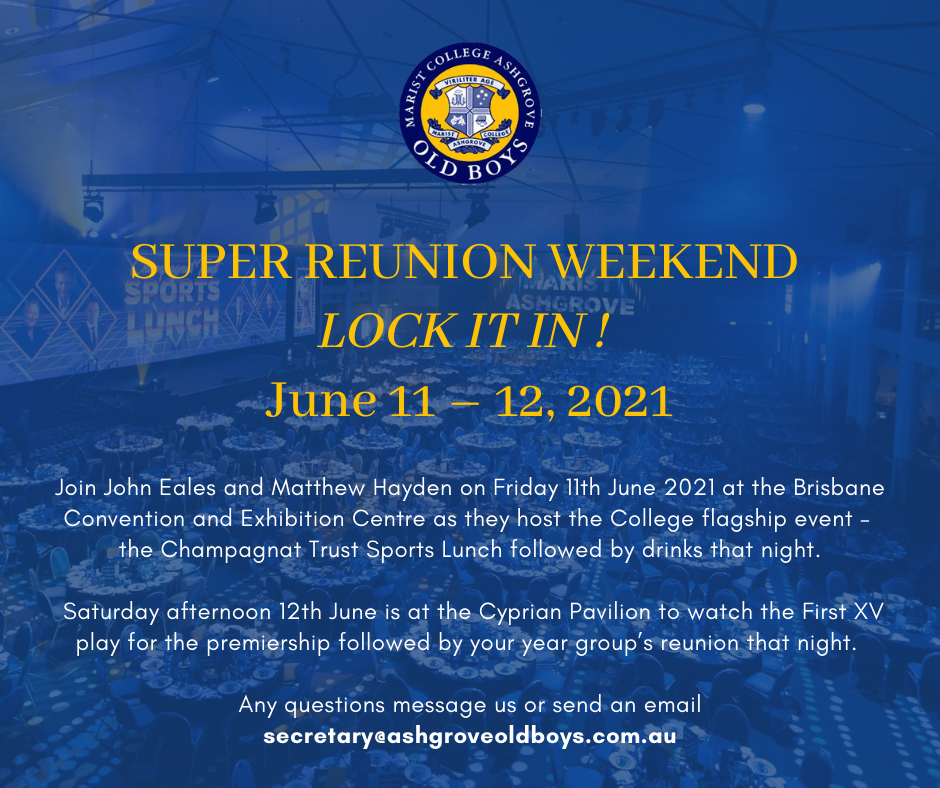 Super Reunion Weekend