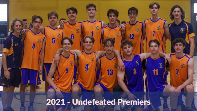 2021 – Undefeated Premiers