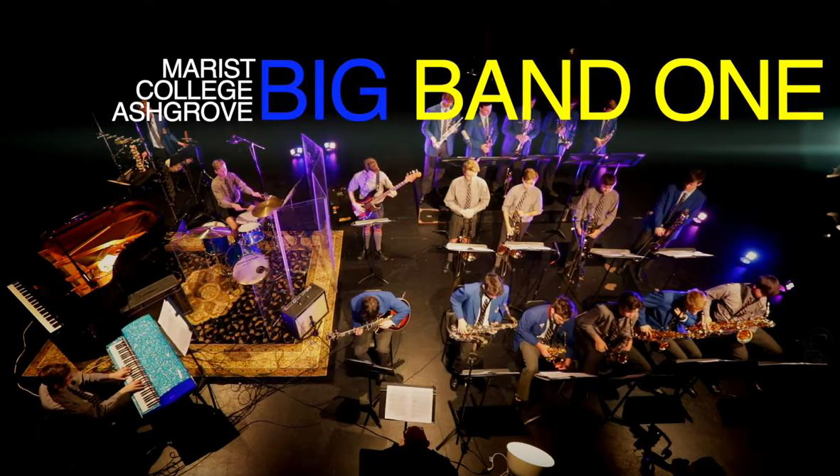 Ashgrove Big Band 1 Sets Brisbane Youth Jazz Festival Alight