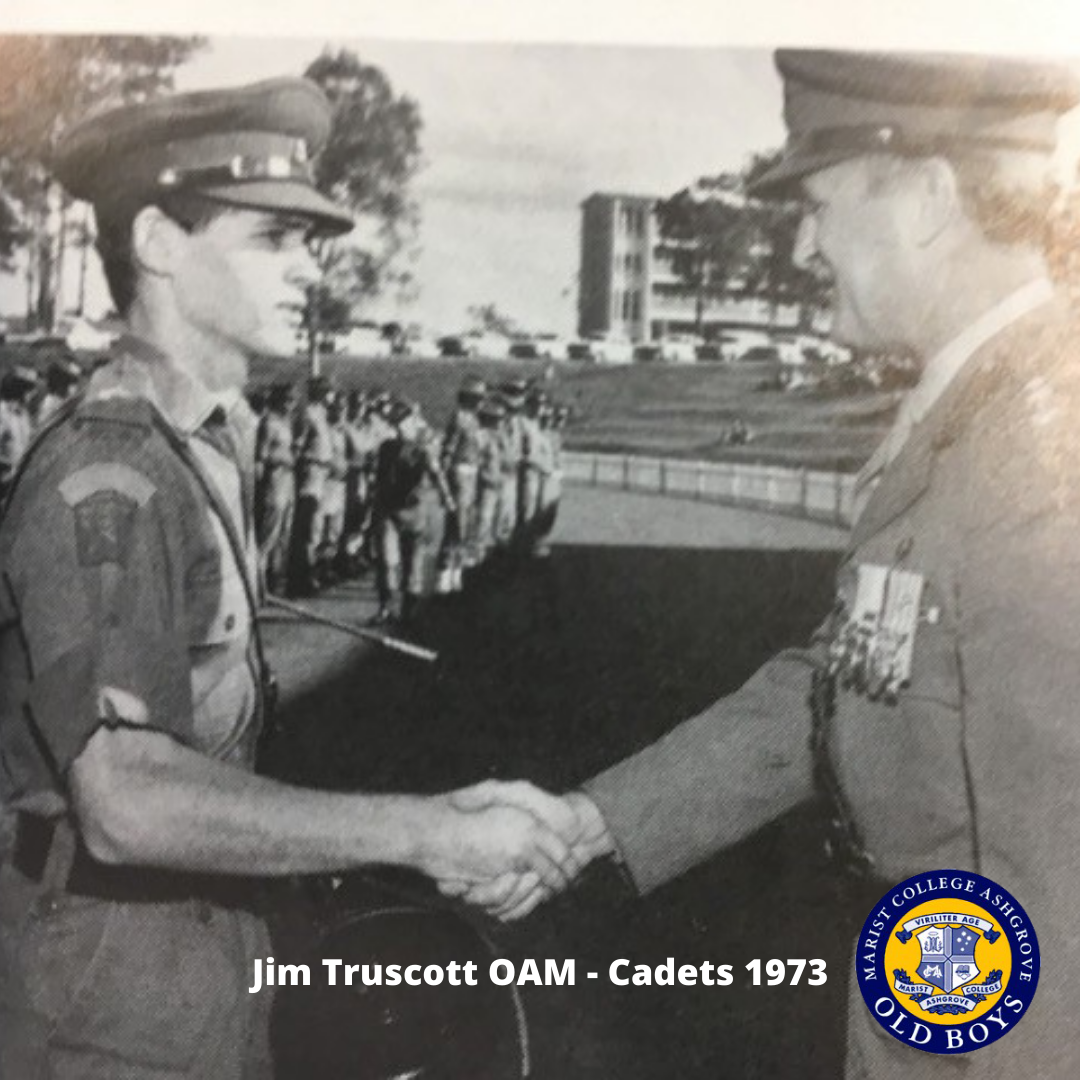 Old Boys Announce the Passing of Jim Truscott OAM (1973)