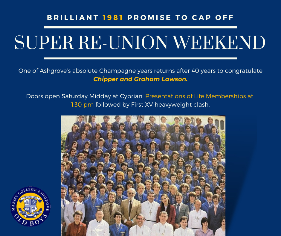 Brilliant 1981 Promise to Cap off Super Reunion Weekend
