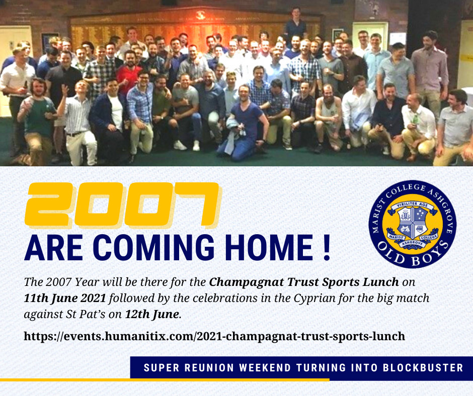 2007 Are Coming Home!