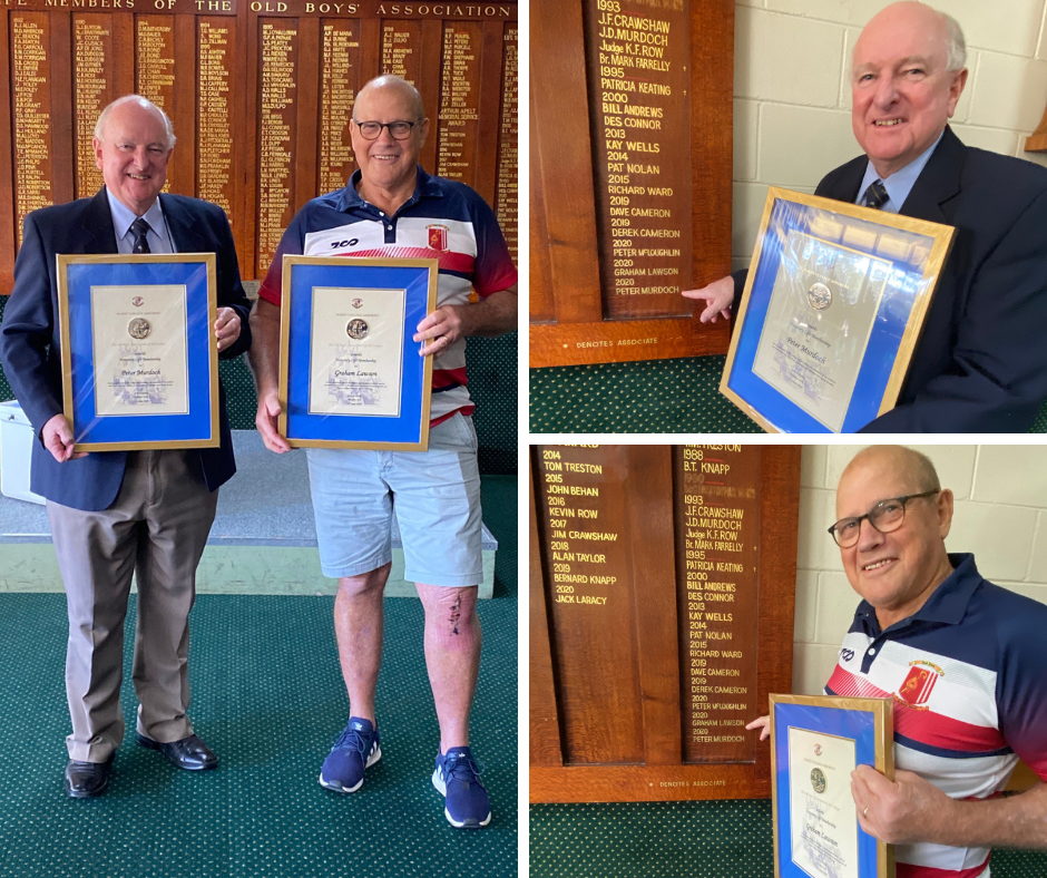 Old Boys Super Reunion Day a Stunning Success! Chippa and Graham Lawson Join the Fold.