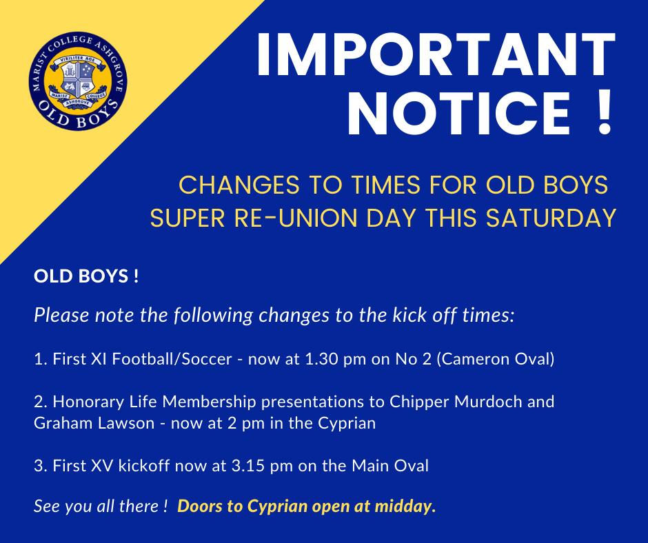 Important Notice !