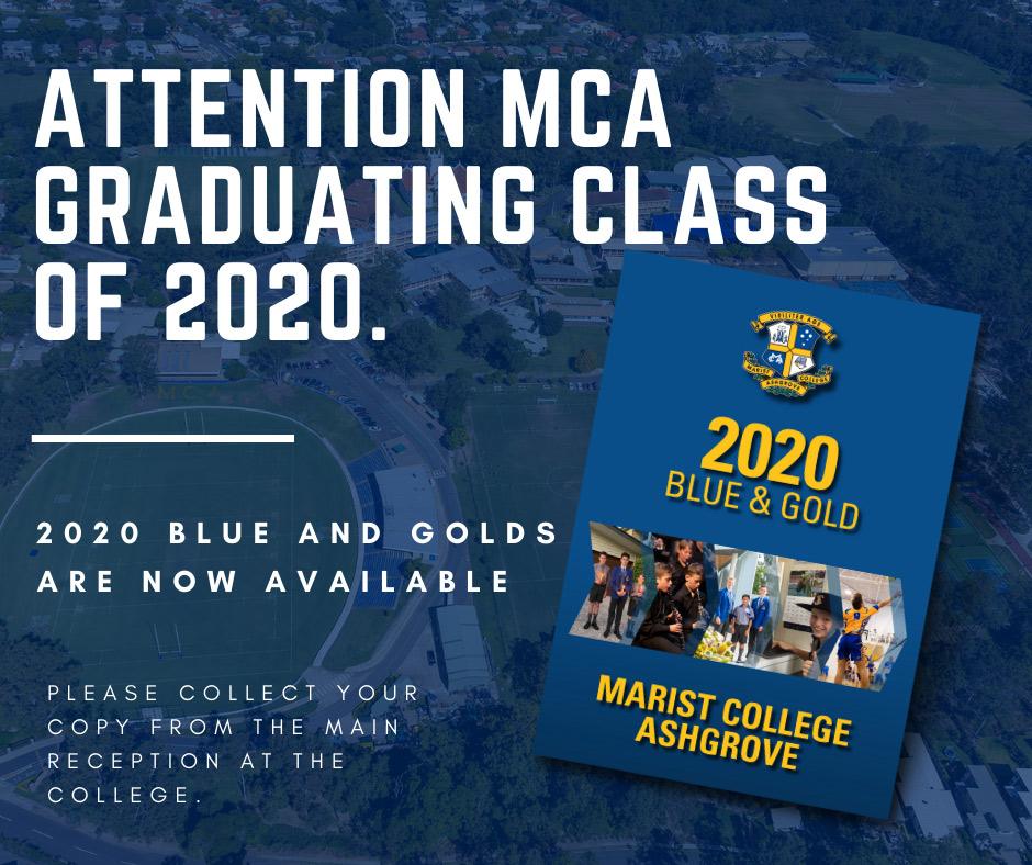 Attention MCA Graduates of 2020