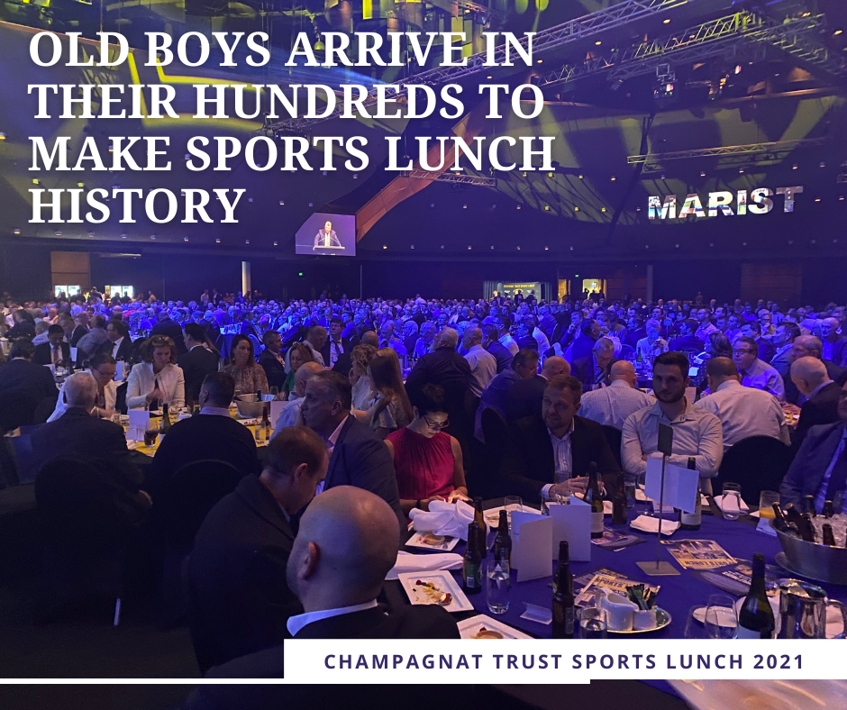 Old Boys Arrive in their Hundreds to Make Sports Lunch History