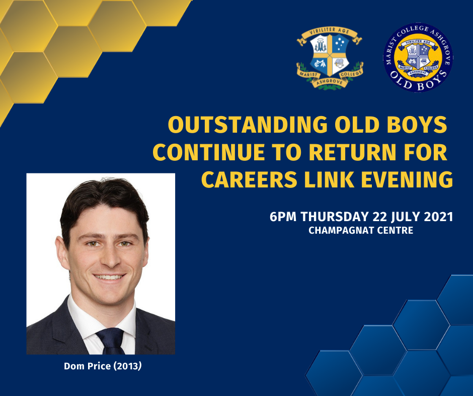 Outstanding Old Boys Continue to Return for Careers Link Evening