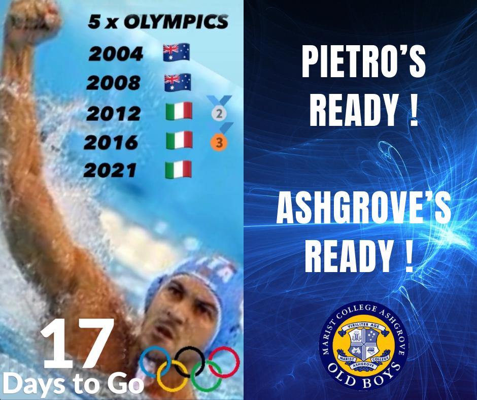 Pietro's Ready!  Ashgrove's Ready!