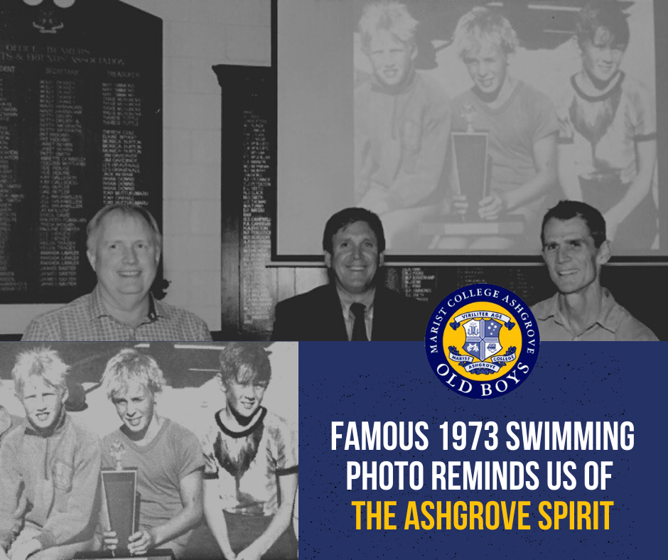Famous 1973 Swimming Photo Reminds us of the Ashgrove Spirit