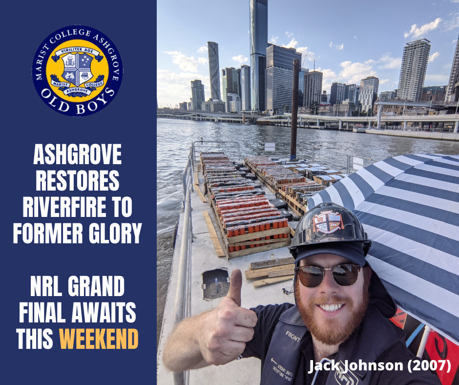 Ashgrove Restores Riverfire to Former Glory – NRL Grand Final Awaits this Weekend