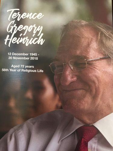 Memorial Mass - Br Terence Heinrich